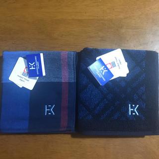 ヒロココシノ(HIROKO KOSHINO)の今治のコシノヒロコのメンズタオルハンカチ2枚セット(ハンカチ/ポケットチーフ)