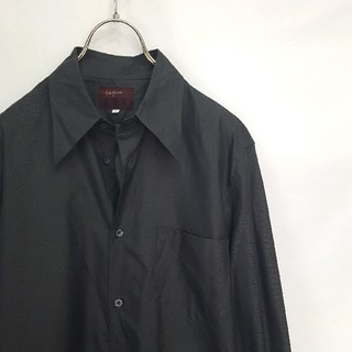 ヨウジヤマモト(Yohji Yamamoto)の★日本製 Yohji Yamamoto A.A.Rデザイン ドレスシャツ(シャツ)