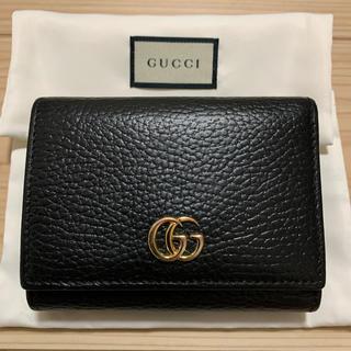 Gucci - GUCCI プチマーモント 三つ折り財布