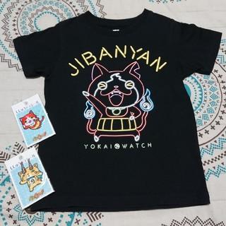 ユニクロ(UNIQLO)の妖怪ウォッチTシャツ&刺繍デコシール2枚(Tシャツ/カットソー)