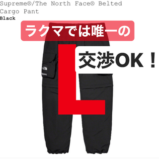 シュプリーム(Supreme)のSupreme®/The North Face® Cargo Pant 黒 L(ワークパンツ/カーゴパンツ)