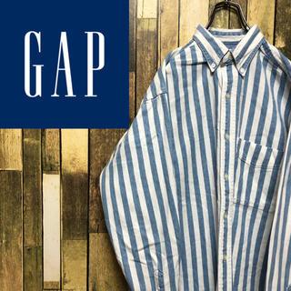 GAP - 【オールドギャップGAP】ボールドストライプ☆ヒッコリーシャツ 90s