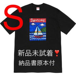Supreme - Supreme sailboat tee 黒 Sサイズ 納品書付❗️