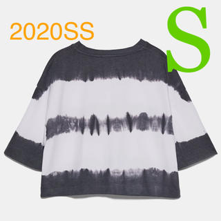 ZARA - *2020SS*ZARA クロップド丈 タイダイ Tシャツ