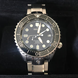 セイコー(SEIKO)のSEIKO プロスペックス スプリングドライブ SBDB011 マリーンマスター(腕時計(アナログ))