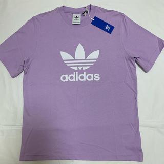 アディダス(adidas)の新品 アディダス オリジナルス  半袖 Tシャツ  L メンズ パープルグロー(Tシャツ/カットソー(半袖/袖なし))