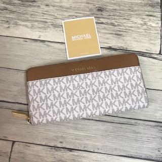 マイケルコース(Michael Kors)のマイケルコース MICHAEL KORS 長財布 レディース バニラ(財布)