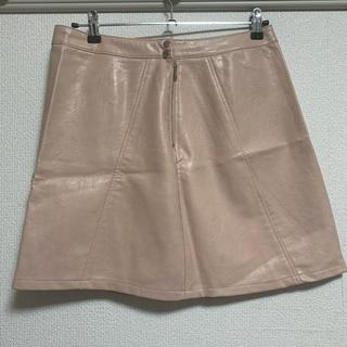 ザラ(ZARA)の【新品】ZARA スカート(ひざ丈スカート)