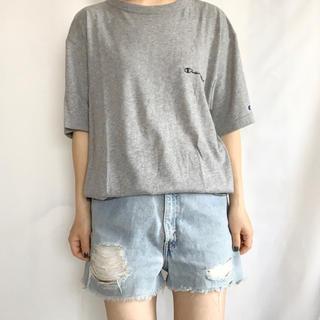 チャンピオン(Champion)のchampion ロゴ刺繍TEE(Tシャツ/カットソー(半袖/袖なし))