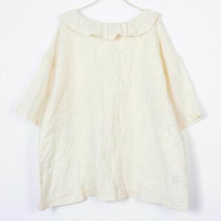 ネストローブ(nest Robe)のnest   robe フリル ブラウス(シャツ/ブラウス(半袖/袖なし))
