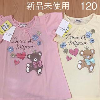 エニィファム(anyFAM)のanyFAM カットソー Tシャツ 120 2枚(Tシャツ/カットソー)