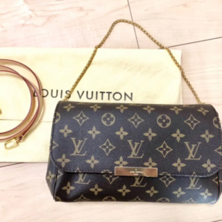 LOUIS VUITTON - 中古 ルイヴィトン モノグラム フェイボリットmm