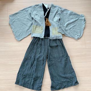 袴 キッズ 120 (和服/着物)