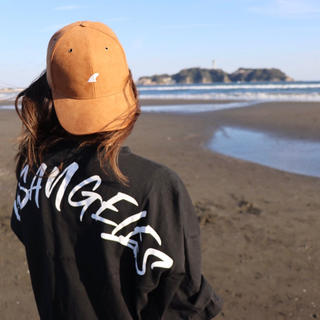 スタンダードカリフォルニア(STANDARD CALIFORNIA)の湘南コーデ☆LUSSO SURF スウェード刺繍キャップ 帽子☆RVCA(キャップ)