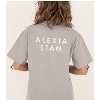 ALEXIA STAM - 新品未使 アリシアスタン    Tシャツ
