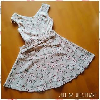 JILL by JILLSTUART - 《JILL by JILLSTUART》花柄 フラワー ジャガード ワンピース