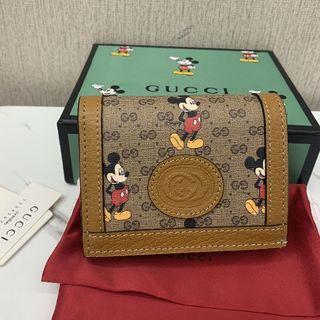 グッチ(Gucci)のGUCCI グッチ ミッキー ディズニー コラボ 折り財布(財布)
