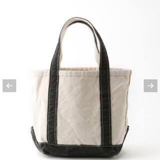 アパルトモンドゥーズィエムクラス(L'Appartement DEUXIEME CLASSE)のアパルトモン【L.L.Bean】Canvas tote bag S ブラック(トートバッグ)