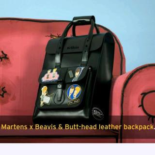 ドクターマーチン(Dr.Martens)の★新品★ドクターマーチン バックパック リュック 黒 ビーバス バットヘッド(リュック/バックパック)