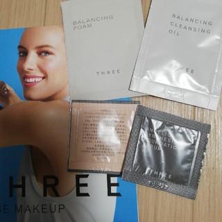 スリー(THREE)のスリー 化粧品サンプル A(サンプル/トライアルキット)