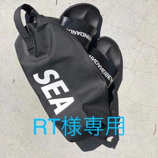 シー(SEA)のWDS DOPP KIT BAG (LARGE) / ブラック(その他)