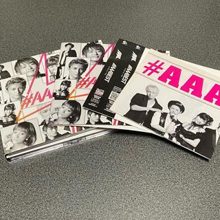 トリプルエー(AAA)の#AAA BEST 初回生産限定盤 CD +2DVD(ミュージック)