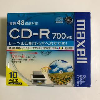マクセル(maxell)のmaxell データ用 CD-R 700MB 48倍速対応  10枚pack(その他)