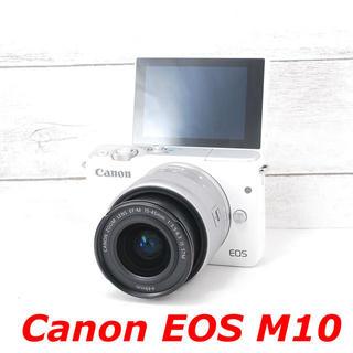キヤノン(Canon)の❤️Wi-Fiでスマホへ❤️自撮り❤️Canon EOS M10(ミラーレス一眼)