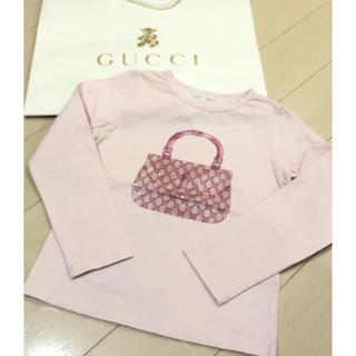 グッチ(Gucci)の☆GUCCI☆ kids☆バンブーBAG☆カットソー☆5(Tシャツ/カットソー)