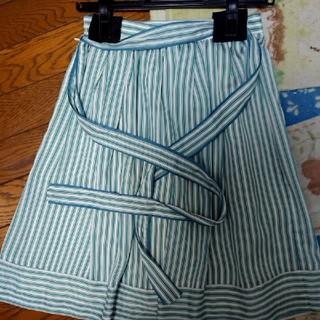 エニィスィス(anySiS)のanysisストライプスカート(ひざ丈スカート)