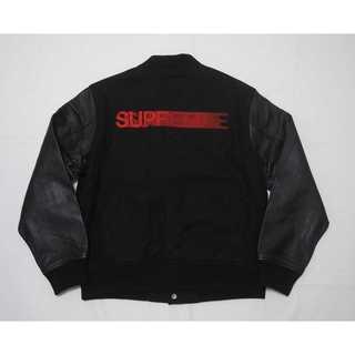Supreme Motion Logo Varsity Jacket(レザージャケット)