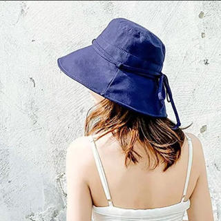 UV 紫外線100%カット 可愛い 小顔効果抜群 帽子 レディース(その他)