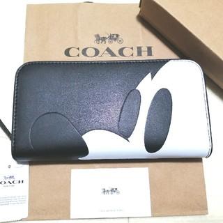 COACH - 新品未使用 COACH コーチ ディズニー ミッキー 財布