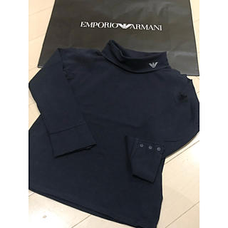 ARMANI JUNIOR - ☆ARMANI.Jr☆タートルカットソー☆118cm