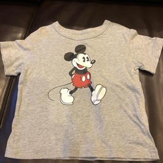 ユニクロ(UNIQLO)のUNIQLO☆ミッキーTシャツ100cm(Tシャツ/カットソー)