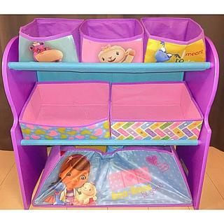 ディズニー(Disney)のドックはおもちゃドクター 収納ボックス(収納/チェスト)