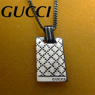 Gucci - GUCCI ディアマンテ   プレートネックレス