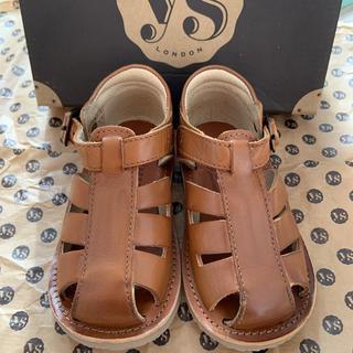 キャラメルベビー&チャイルド(Caramel baby&child )の新品young soles London サンダル 21 12.7cm(サンダル)