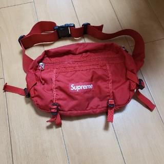 シュプリーム(Supreme)のSupreme 16ss Waist Bag Red ウエストポーチ(ウエストポーチ)