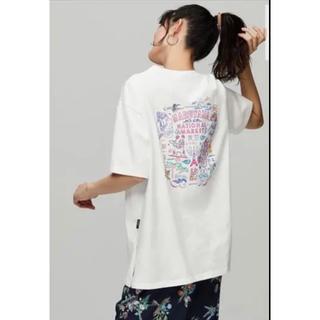 ジーユー(GU)のGU ケイタマルヤマ バックプリント  コラボ   Tシャツ M(Tシャツ(半袖/袖なし))