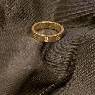 カルティエ(Cartier)のカルティエ ミニラブリング 1Pダイヤ YG  シャネル ティファニー ブルガリ(リング(指輪))