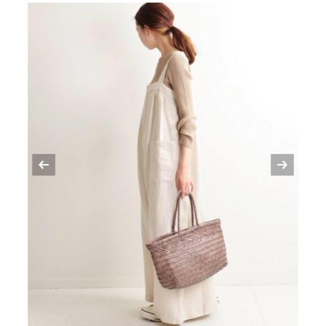 IENA(イエナ)のIENA イエナ apupil リネンサロペット レディースのパンツ(サロペット/オーバーオール)の商品写真