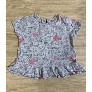 ザラキッズ(ZARA KIDS)のTシャツ トップス 80 ZARAベビー ユニコーン(Tシャツ)