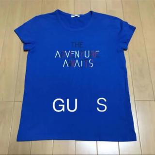 ジーユー(GU)のGU  レディース 半袖tシャツ  S  ジーユー  女の子(Tシャツ(半袖/袖なし))