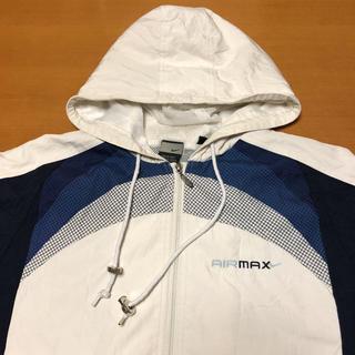 NIKE - ナイキ NIKE エアマックス フード付き ナイロンジャケット 刺繍ロゴ L