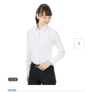 アオヤマ(青山)の洋服の青山ブラウス長袖 n-line Precious オールシーズン用 (スーツ)