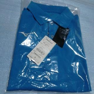 MIZUNO - ミズノ S ブルー ポロシャツ 半袖 スポーツジム テニス ゴルフ
