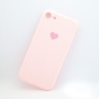 アイフォーン(iPhone)のiPhone7/8/SE2用シリコンケース ピンク(iPhoneケース)