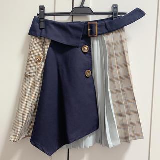 レディアゼル(REDYAZEL)のレディアゼル  チェックスカート プリーツ(ひざ丈スカート)