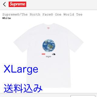 Supreme - Supreme TNF One World Tee White XLarge